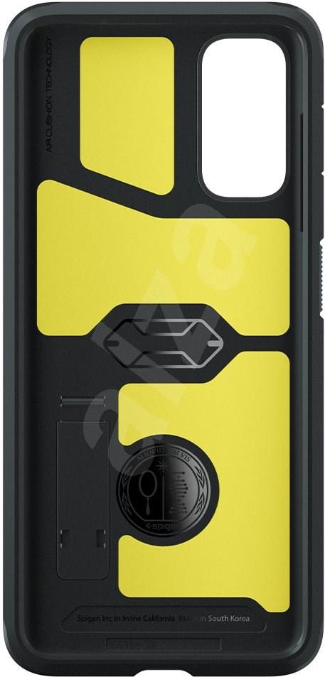 Spigen Tough Armor Black Samsung Galaxy S20 - Mobiltelefon hátlap