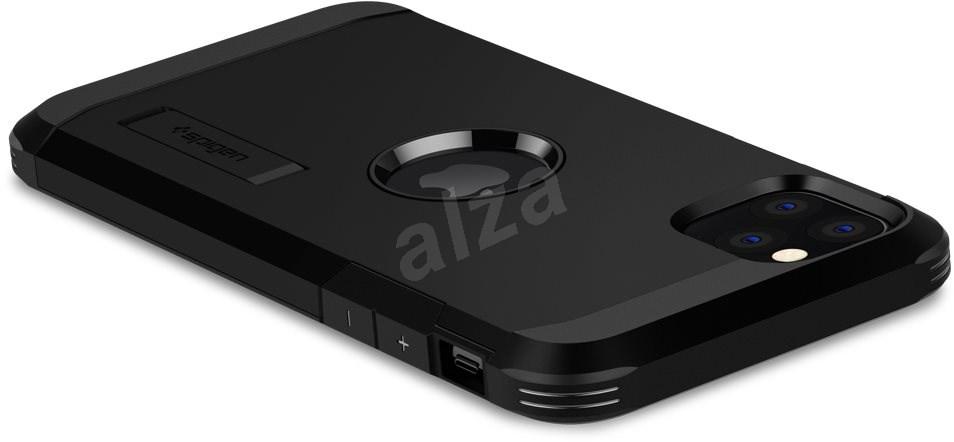Spigen Tough Armor Black iPhone 11 Pro Max - Mobiltelefon hátlap