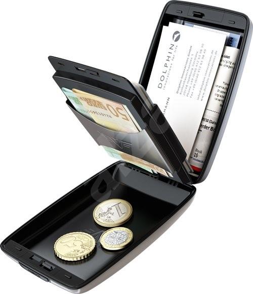 Tru Virtu Cash & Cards Oyster �?Taupe rock - Pénztárca