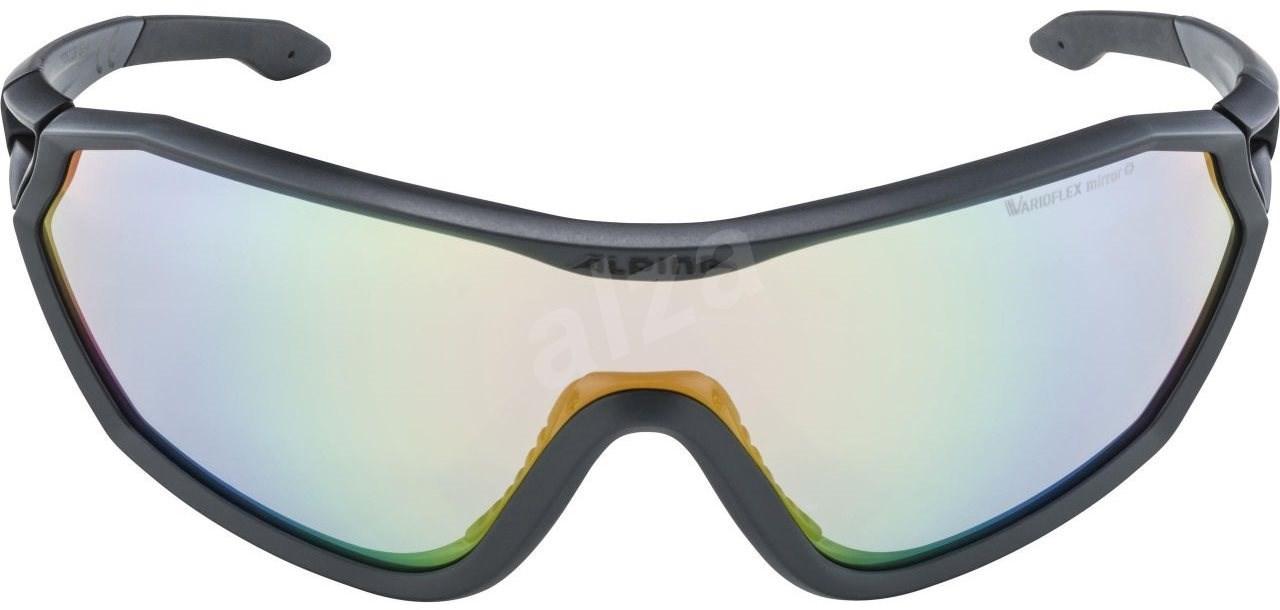 Alpina S-Way VLM+ coal matt-black - Szemüveg