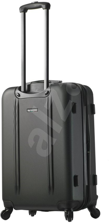Mia Toro Baggi M1210/3-L - ezüst - TSA záras bőrönd