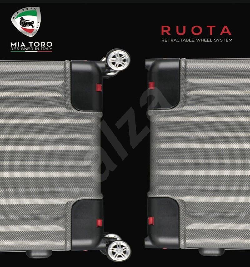 Mia Toro M1300/3-S - kék - TSA záras bőrönd