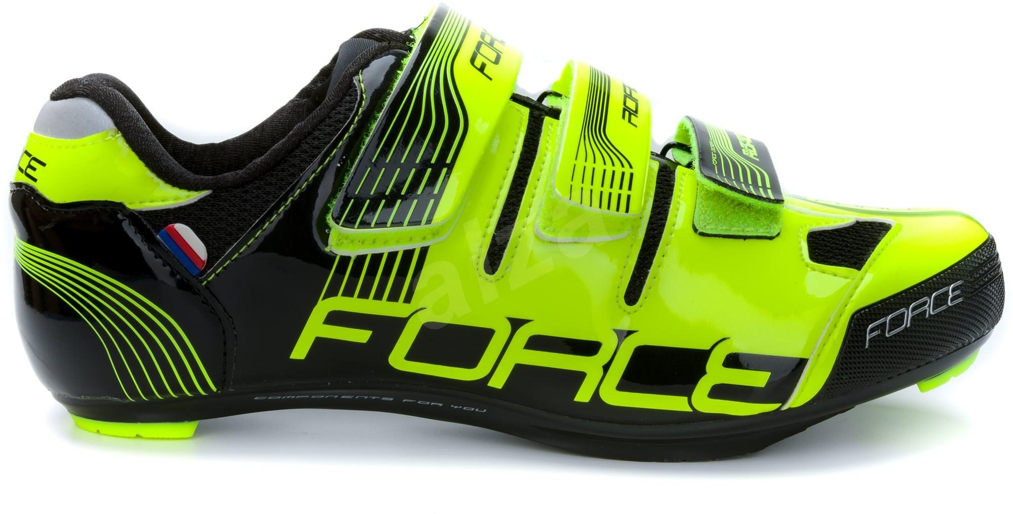 Force Road - fluo/fekete  mérete 40/252 mm - Kerékpáros cipő.