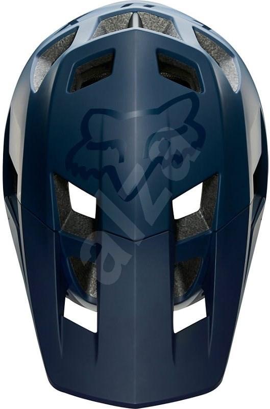 Fox Dropframe Pro Helmet sötétkék - XL - Kerékpáros sisak