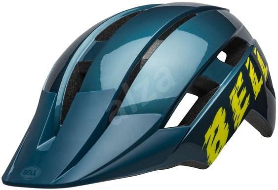 BELL Sidetrack II Child Blue/Hi-Viz - Kerékpáros sisak