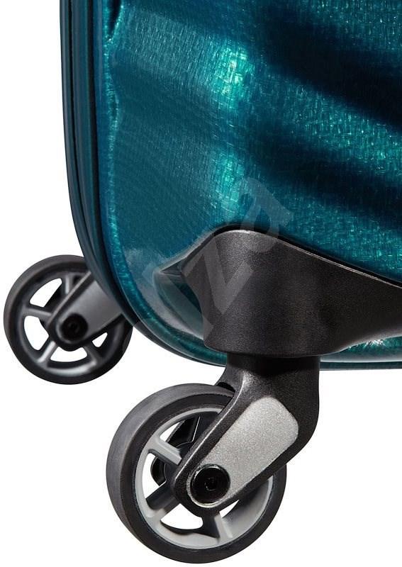 Samsonite SPINNER 75/28 Petrol Blue - LITE-SHOCK 1 - TSA záras bőrönd