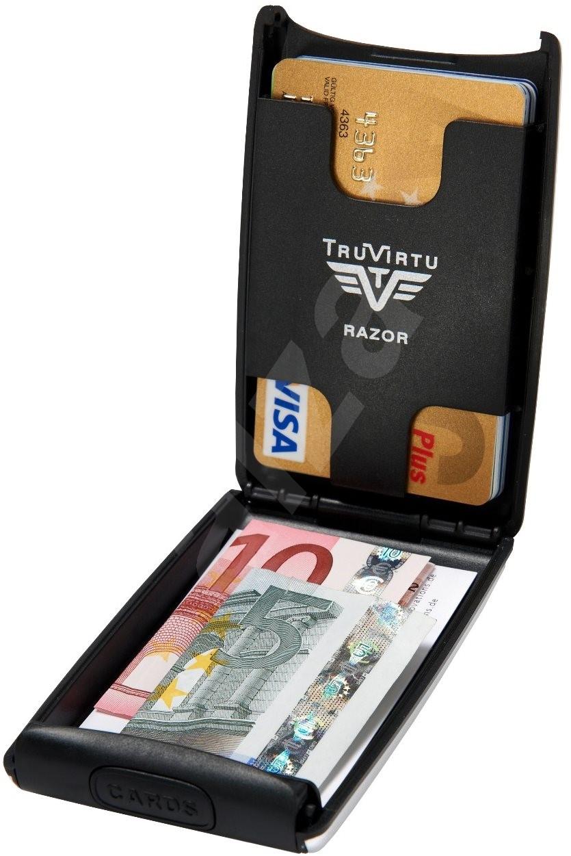 Tru Virtu Credit Card Case Razor - Green Hunt hitelkártya tartó - Pénztárca