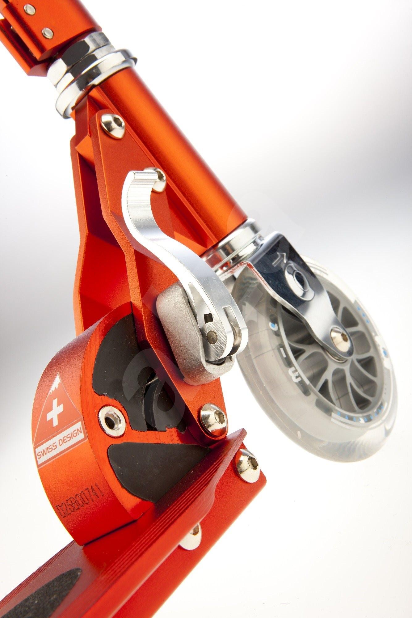 Micro Sprite piros - Összecsukható roller