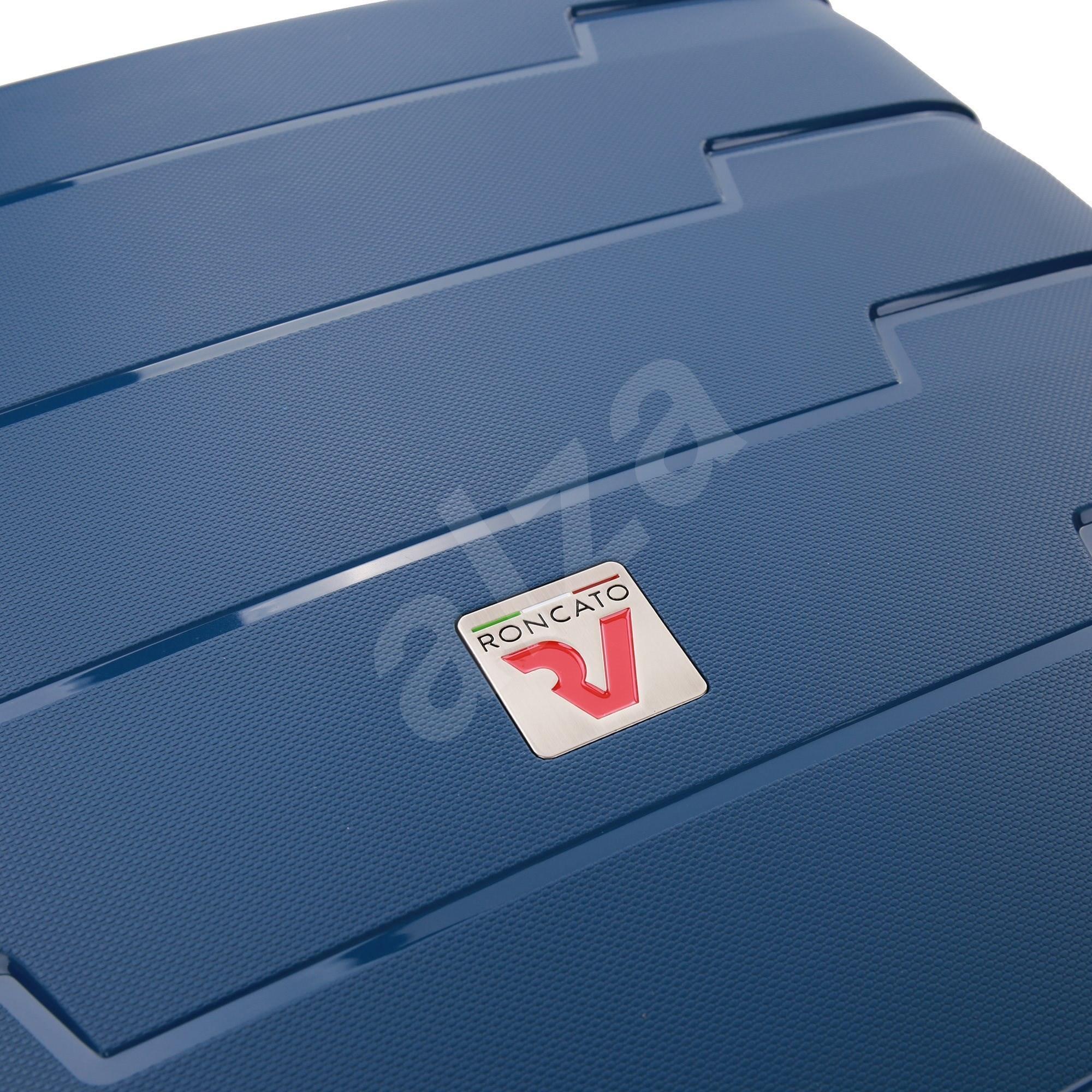 Roncato Skyline  70 cm  4 kerék  EXP sötétkék - Bőrönd