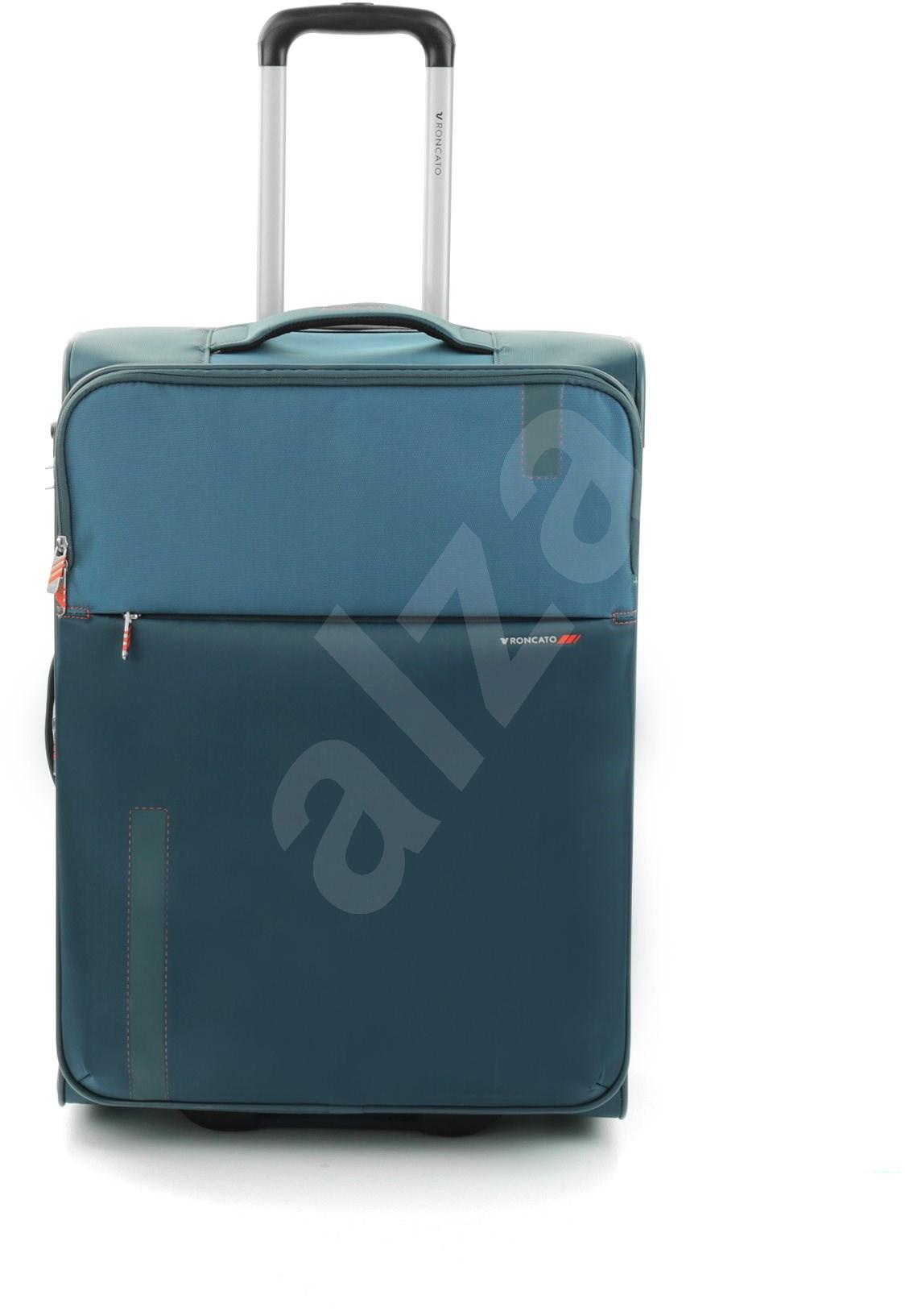 Roncato Speed 67 EXP  kék - TSA záras bőrönd