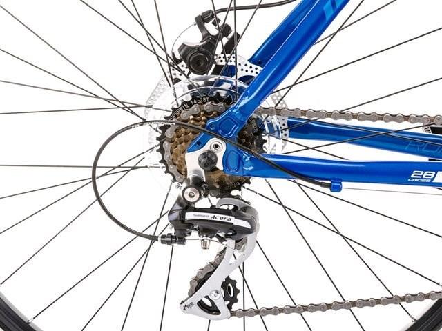 "ROMET ORKAN 1 Black - Light Green M - mérete M/19"" - Cross kerékpár"