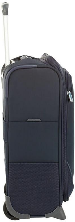 Samsonite Popsoda UPRIGHT 45 UNDERSEATER Dark Blue - TSA záras bőrönd