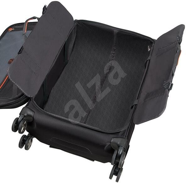 Samsonite X-Blade 4.0 SP. 55 STRICT TOPPOCKET Black - TSA záras bőrönd