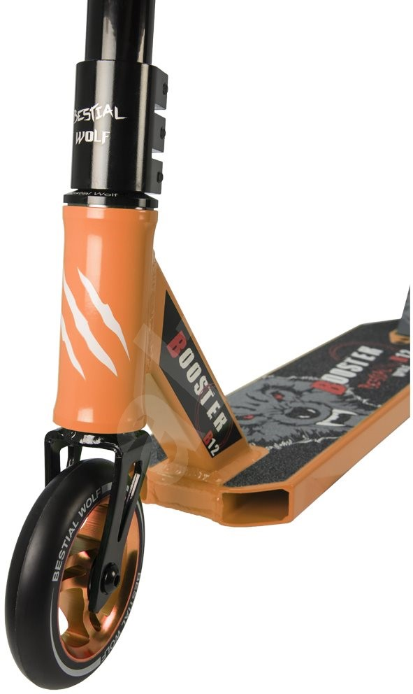 Bestial Wolf Booster B12 narancssárga - Freestyle roller