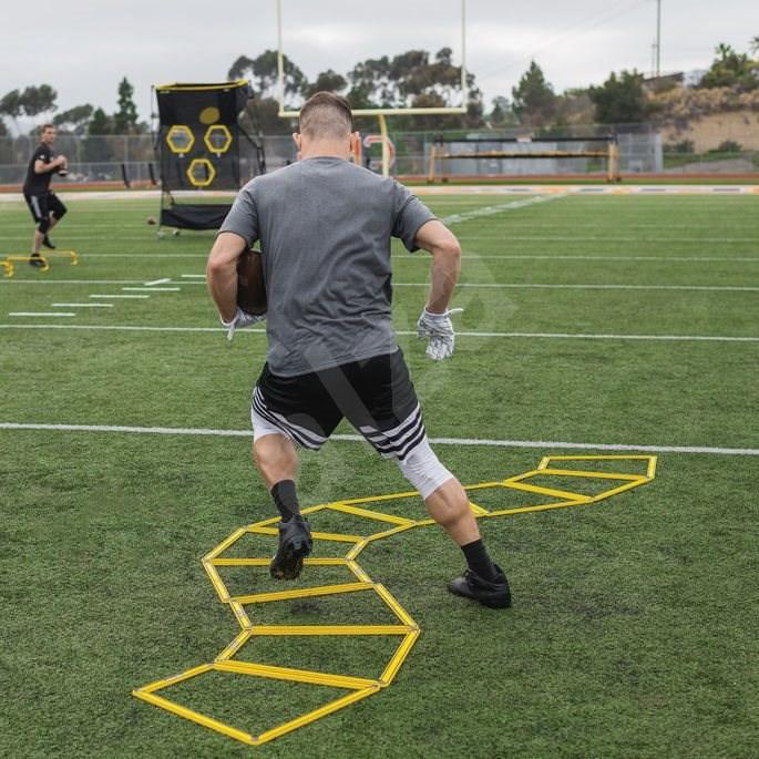 SKLZ Agility Trainer Pro  változtatható koordinációs létra készlet 10 - Tréning létra