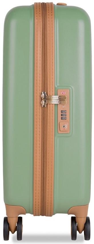 Suitsuit TR-7103/3-S - Fab Seventies Basil Green - TSA záras bőrönd
