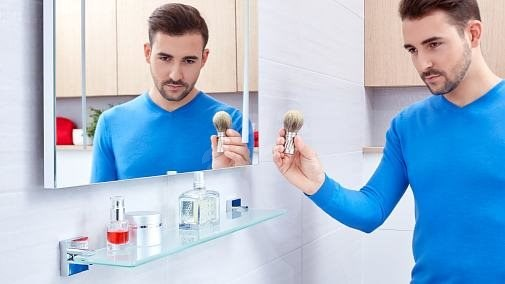 Tesa Ekkro 40243 - Fürdőszoba polc