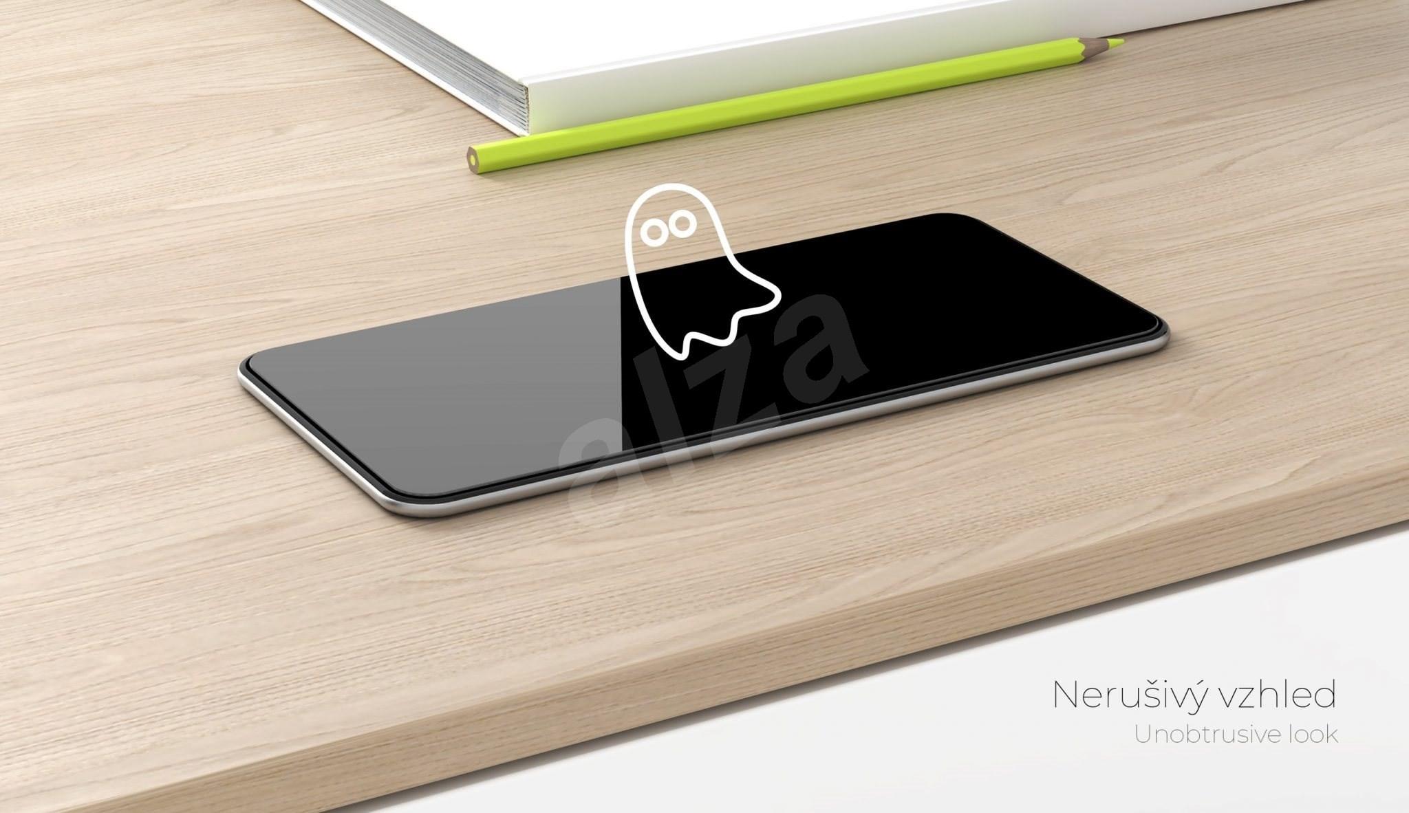 Tempered Glass Protector Sony Xperia L4 készülékhez - keretes  fekete - Képernyővédő.