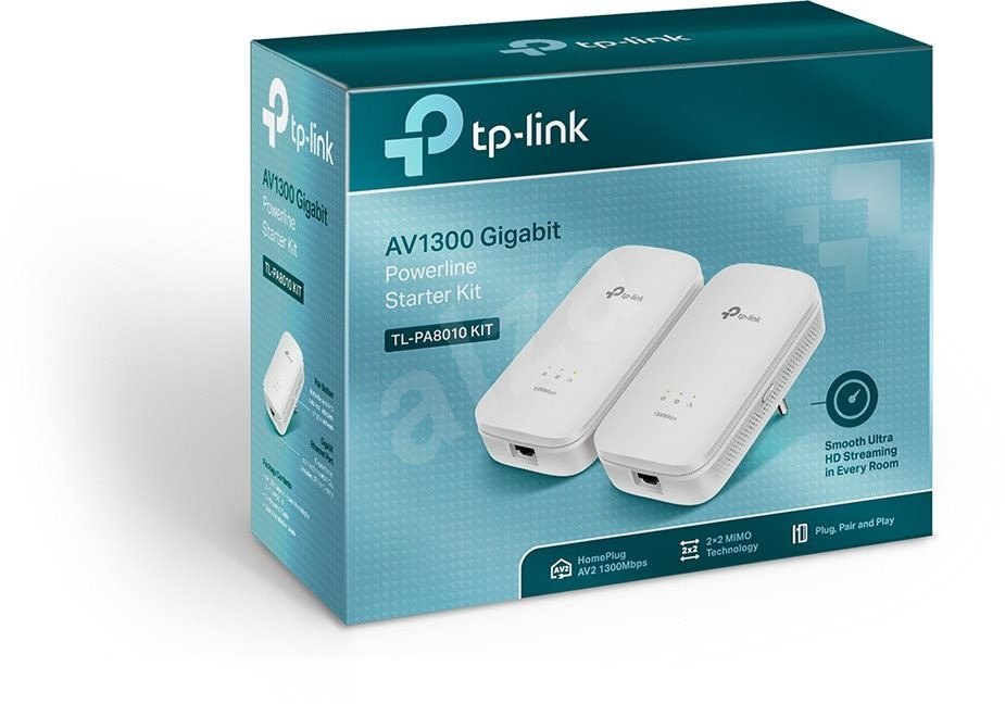 TP-Link TL-PA8010KIT - Powerline