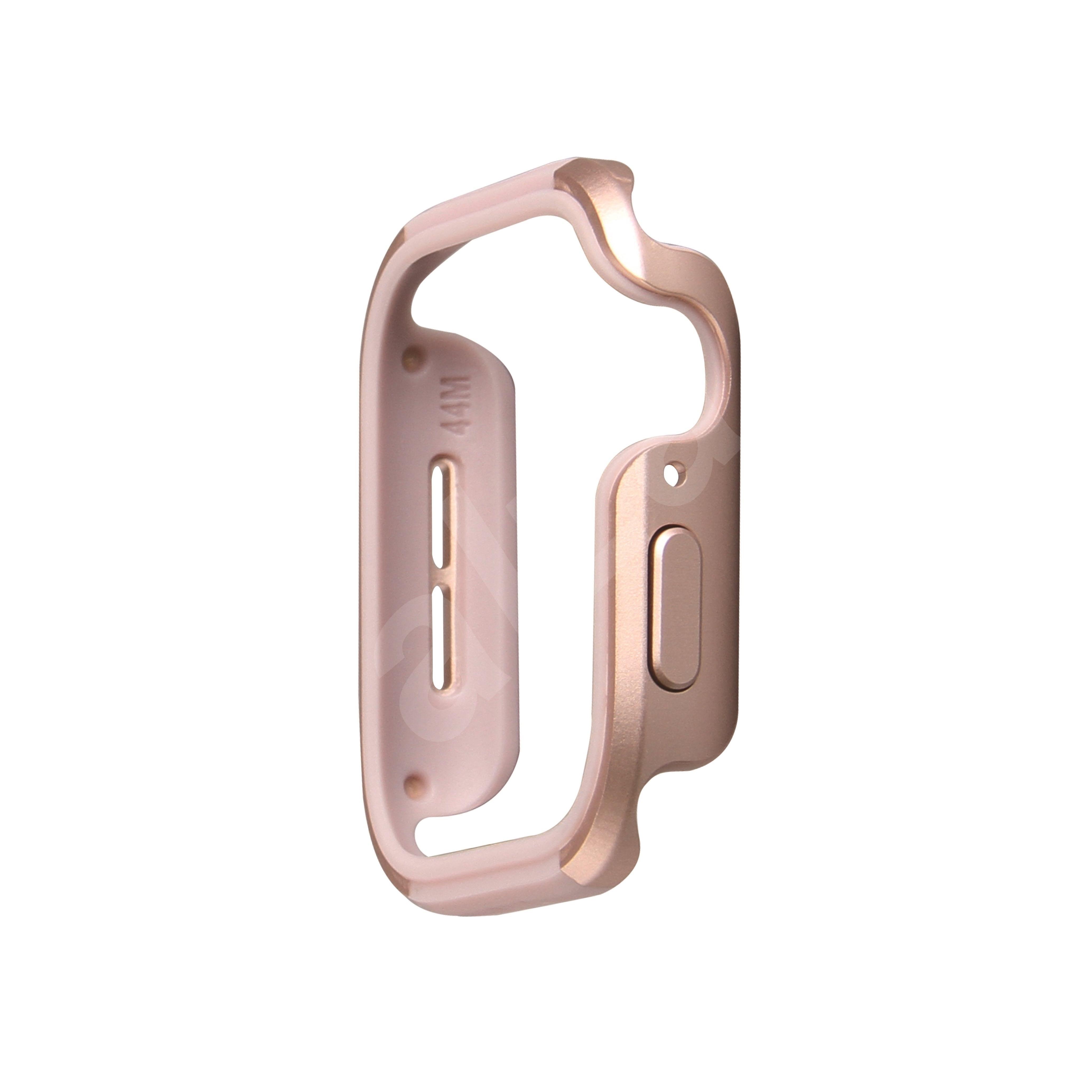 Uniq Valencia az Apple Watch számára  44 mm  Blush Gold rózsaszín - Védőtok