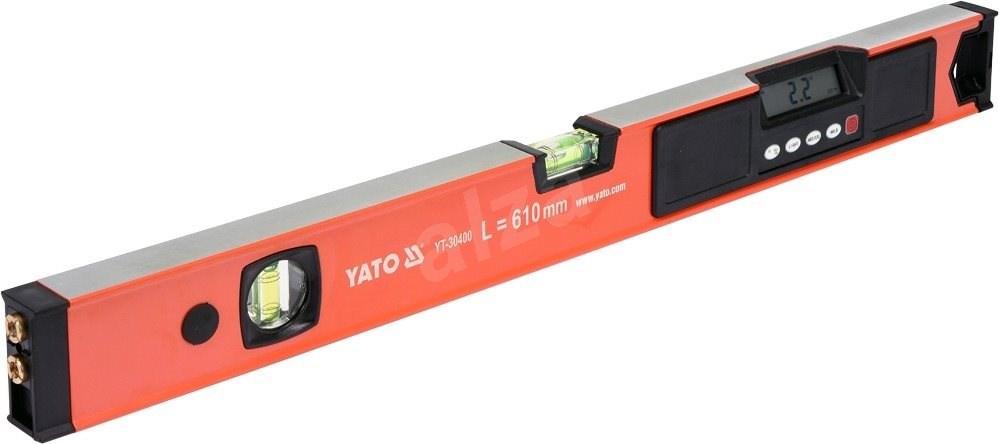 YATO digitális vízmérték lézerrel (610 mm) - Vizszintező.