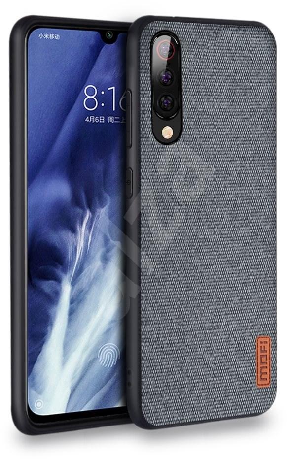 MoFi Fabric Back Cover Xiaomi Mi 9  szürke - Mobiltelefon hátlap