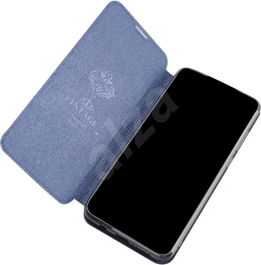 MoFi Flip Case Honor 8A  piros - Mobiltelefon hátlap