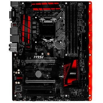 MSI Z170A PRO GAMING
