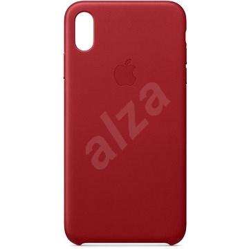 iPhone XS Max bőrtok piros