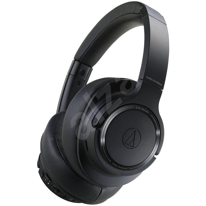 Audio-technica ATH-SR50BT, fekete - Vezeték nélküli fül-/fejhallgató