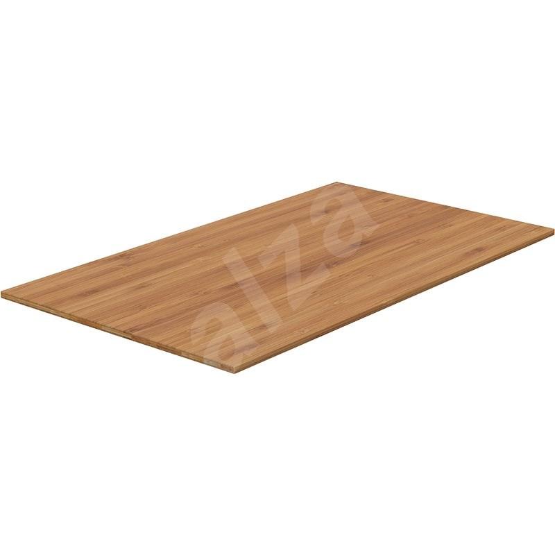 AlzaErgo TTE-01 140 x 80 cm, bambusz - Asztallap