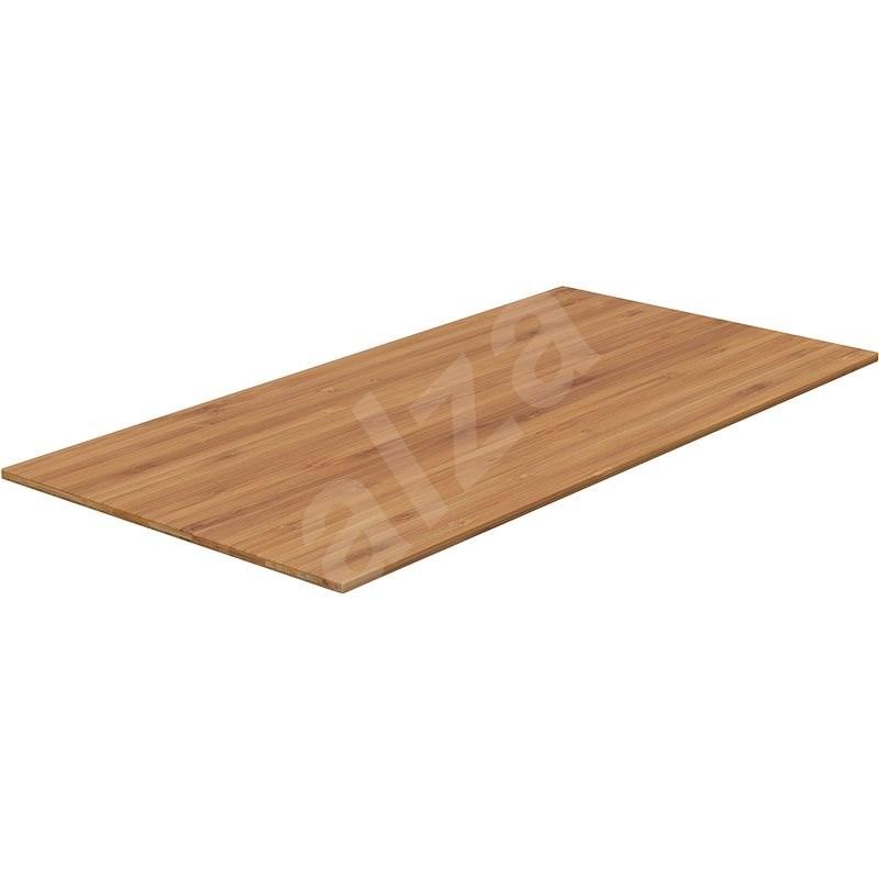 AlzaErgo TTE-03 160 x 80cm, bambusz - Asztallap