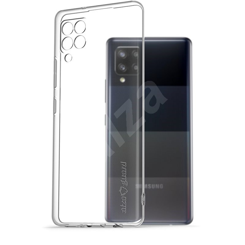 AlzaGuard Crystal Clear TPU Case Samsung Galaxy A42 / A42 5G készülékhez - Telefon hátlap