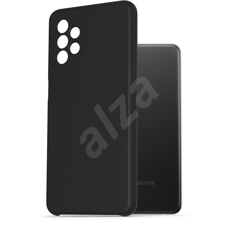 AlzaGuard Premium Liquid Silicone Samsung Galaxy A32 5G - fekete - Telefon hátlap
