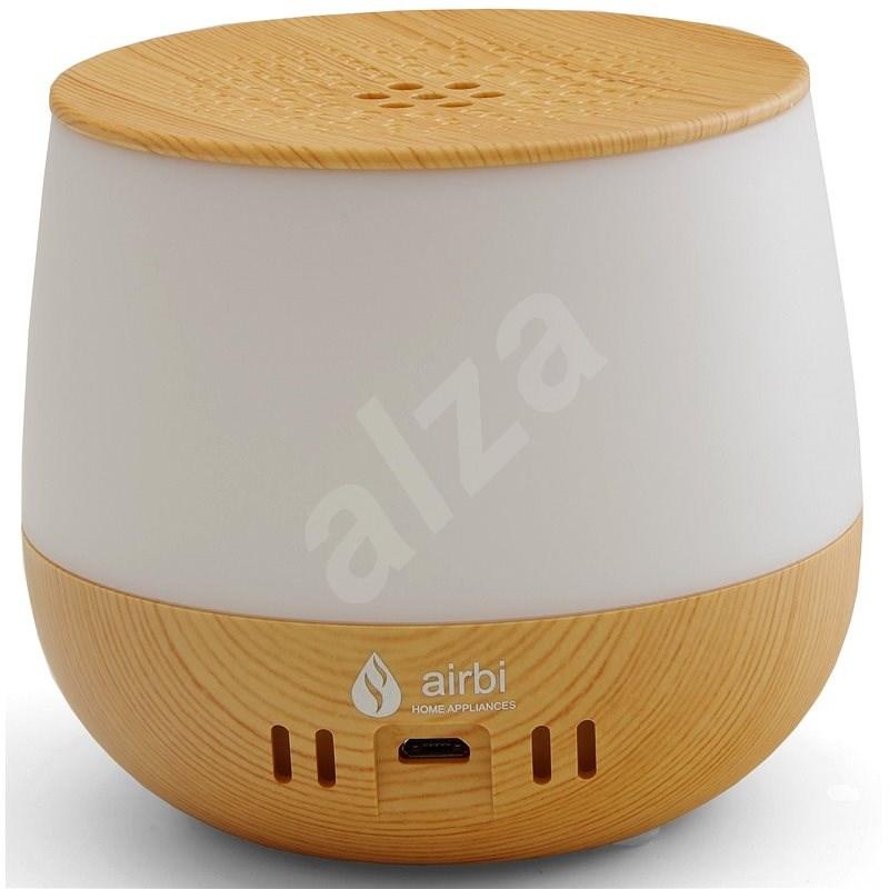 Airbi LOTUS aroma diffúzor - világos fa - Aroma diffúzor