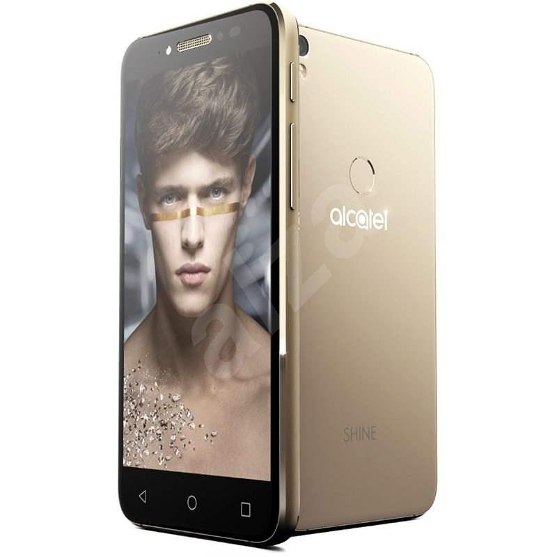 ALCATEL SHINE LITE Satin Gold - Mobiltelefon