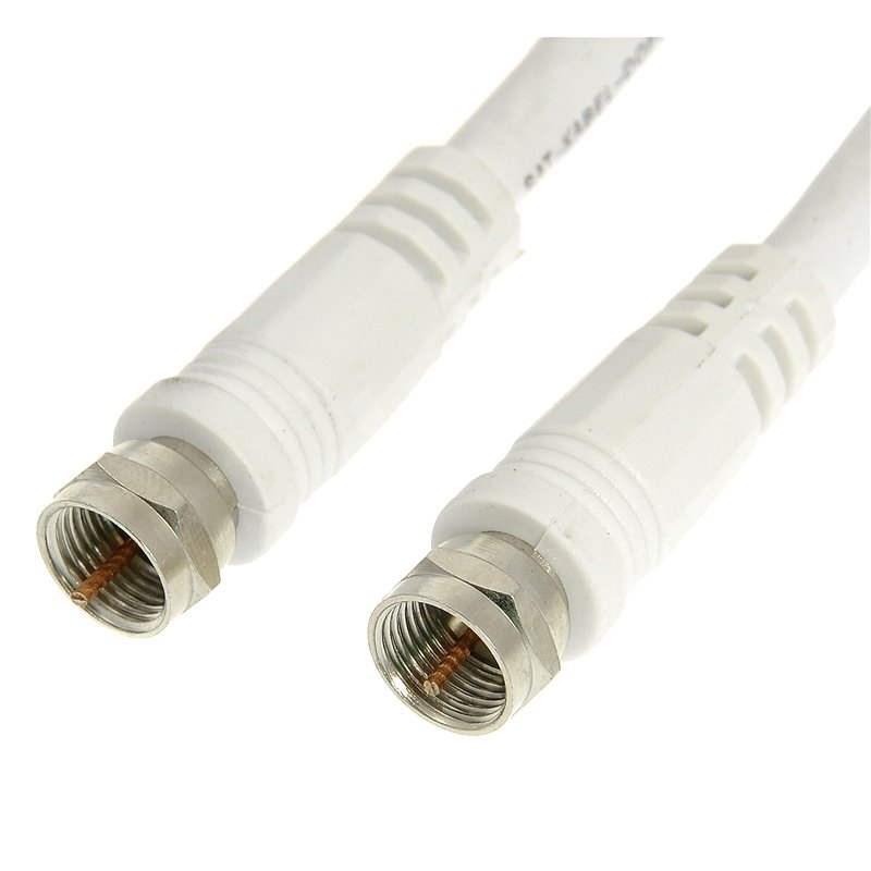 Koaxiális kábel F csatlakozó 10 m - Koax kábel