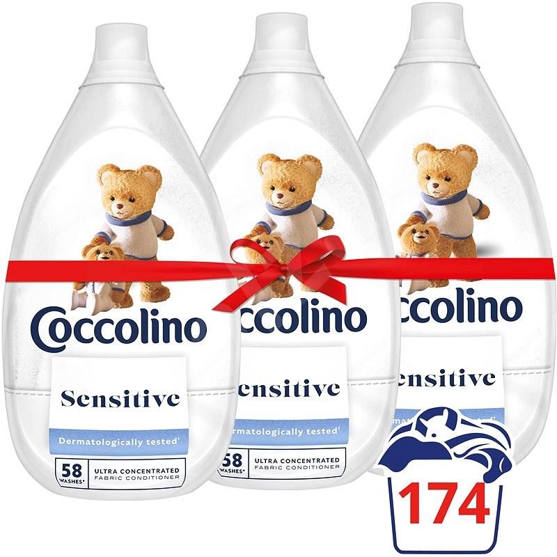 COCCOLINO Intense Pure öblítő 3× 960 ml (174 mosás) - Öblítő