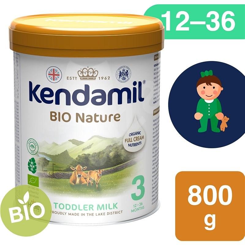 Kendamil BIO bébitápszer 3 DHA+ (800 g) - Bébitápszer
