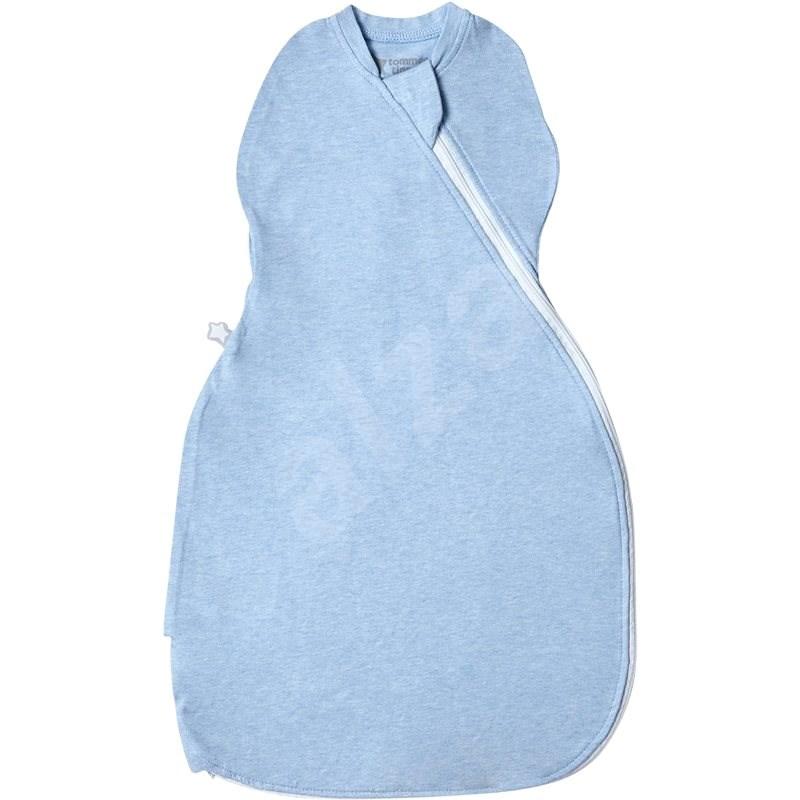 Tommee Tippee Grobag Easy Swaddle 0–3m Blue Marl - Hálózsák gyerekeknek