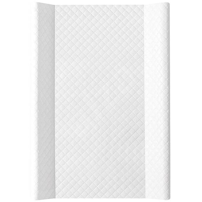 Ceba pelenkázó szőnyeg MDF 50 × 70 cm, Caro fehér - Pelenkázó alátét