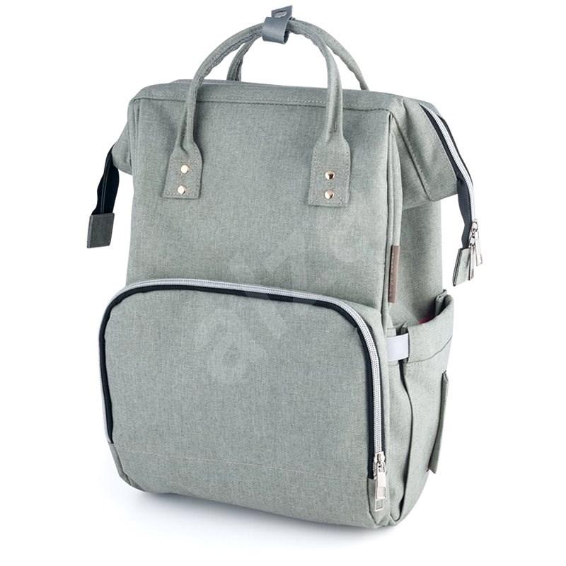 CANPOL BABIES LADY MUM pelenkázó hátizsák - szürke - Pelenkázó hátizsák