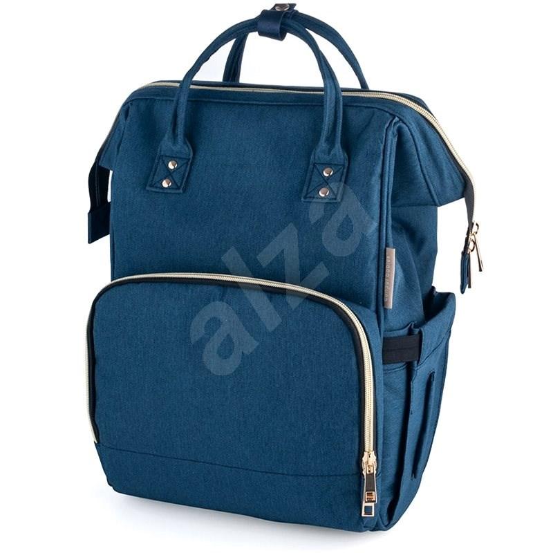 CANPOL BABIES LADY MUM pelenkázó hátizsák - kék - Pelenkázó hátizsák