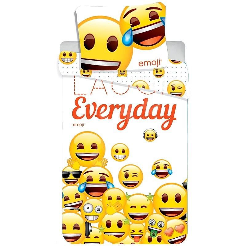 Jerry Fabrics ágyneműhuzat - Emoji 213 Laugh Everyday - Gyerek ágyneműhuzat