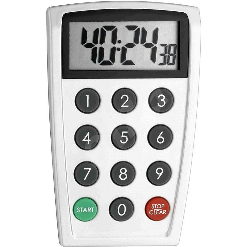Digitális perc figyelő - időzítő és stopper - TFA38.2026 - Konyhai időzítő