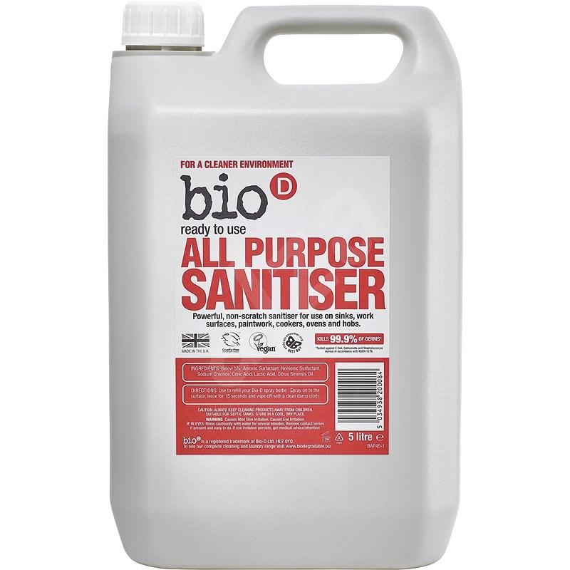 BIO-D fertőtlenítő tisztítószer, 5 l - Öko tisztítószer