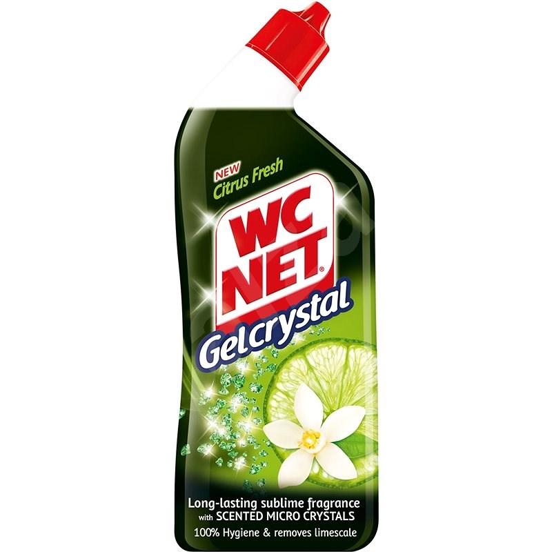 WC NET Gel Crystal Citrus Fresh 750 ml - WC-tisztító