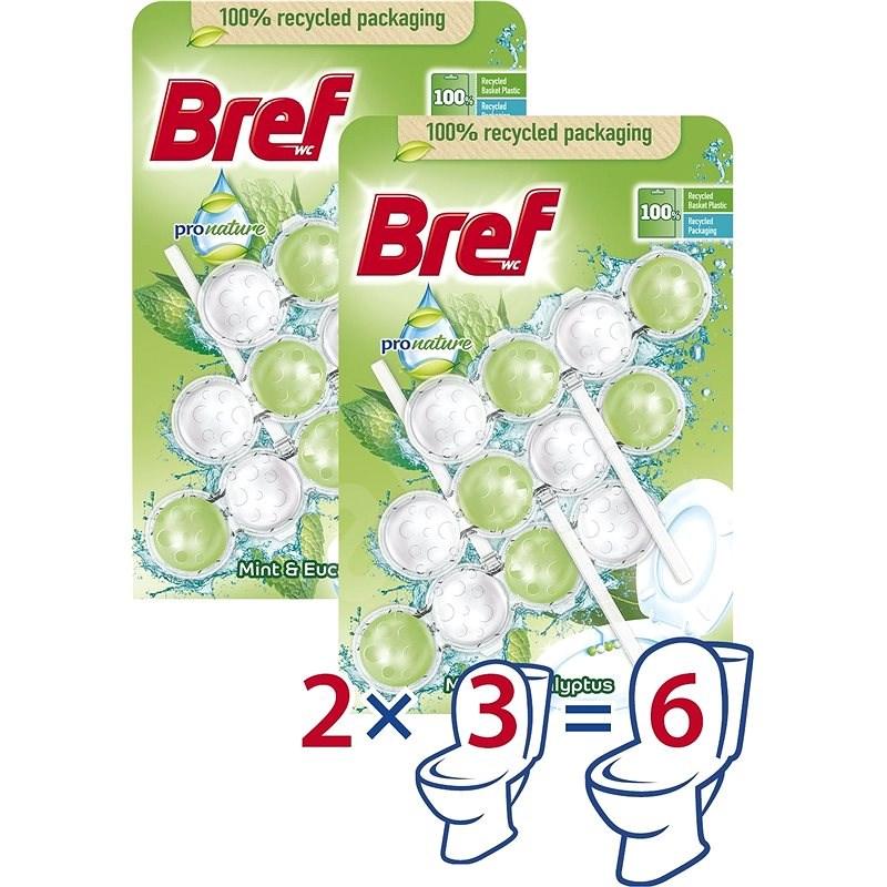 BREF ProNature Mint 6× 50 g - WC blokk
