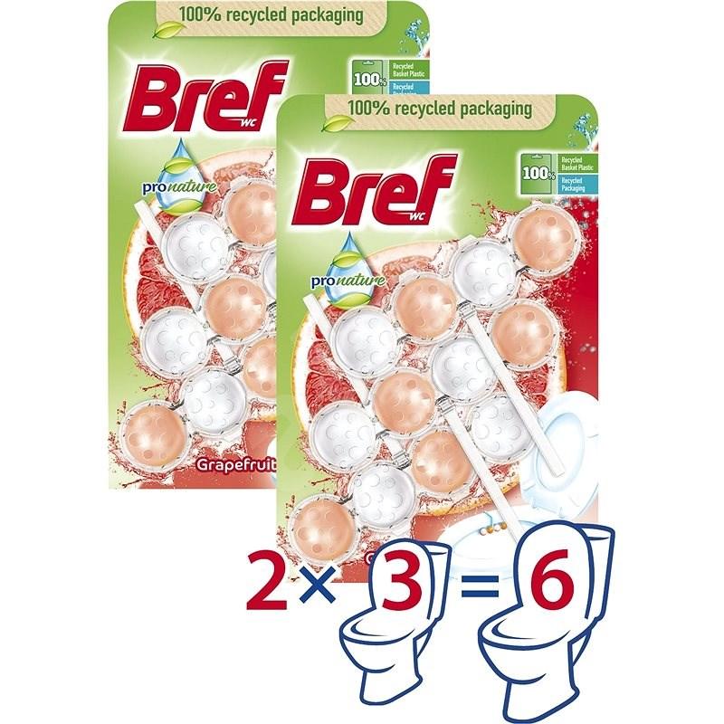 BREF ProNature Grapefruit 6× 50 g - WC blokk