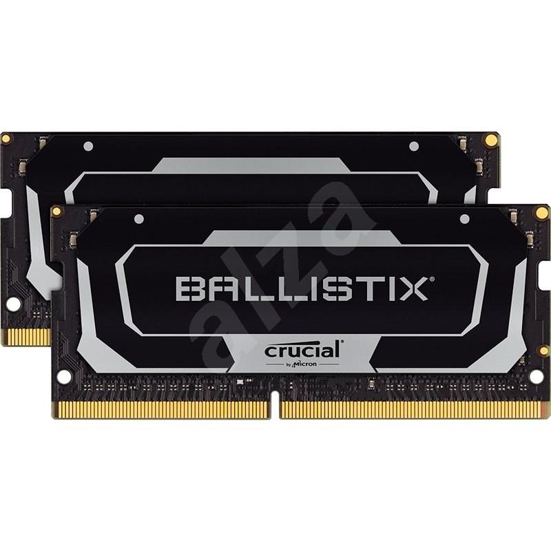 Crucial SO-DIMM 32GB KIT DDR4 2666Mhz CL16 Ballistix - RAM memória